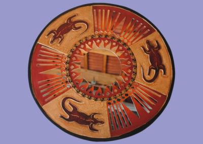 mosaikspiegel-gekko-von-300-bis-600mm-hell-u-dunkelbraun-gemalt