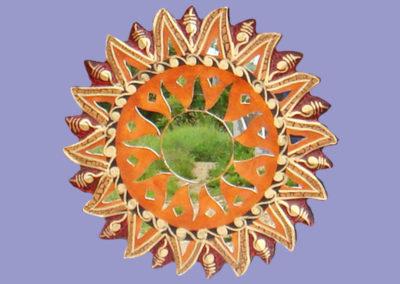 spiegel-mosaik-braun-30-cm